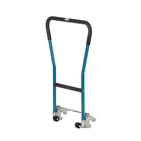 Poignée tubulaire à encliqueter pour châssis fetra® avec butées d'angle