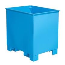 Pojemnik do składowania piętrowego do zestawów transportowych z ciągnikiem, lakierowany