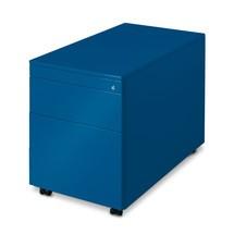 Pojemnik na kółkach C+Pzsystemem przechowywania teczek wiszących iszufladą, wys. xszer. xgł. 570 x430 x800 mm