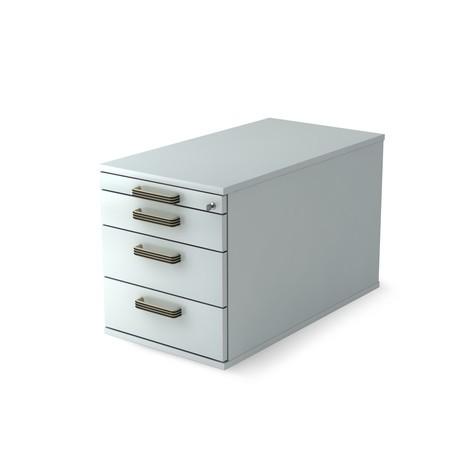 pojemnik na kółkach Solid z 4 szuflad