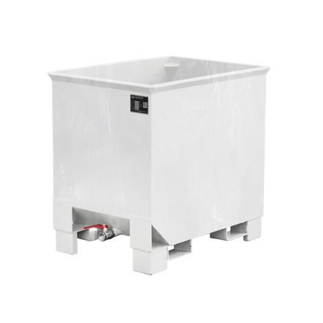 Pojemnik na wióry do składowania piętrowego do zestawów transportowych z ciągnikiem, ocynkowany