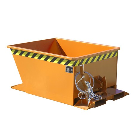 Pojemnik uchylny do zestawów transportowych z ciągnikiem, lakierowany