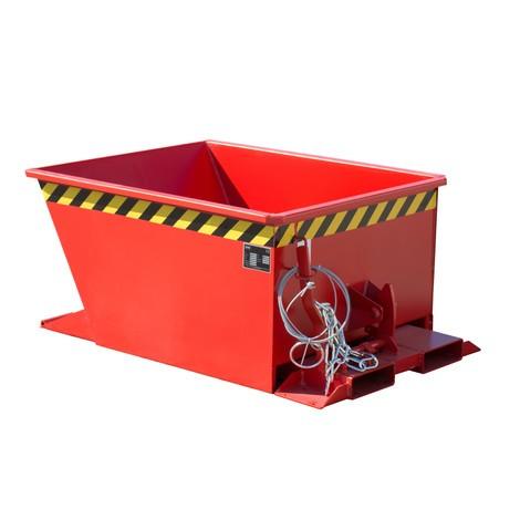 Pojemnik uchylny do zestawów transportowych z ciągnikiem, lakierowany, pojemność 0,3m³