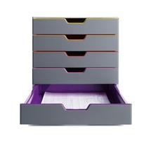 Pojemnik z szufladami DURABLE Varicolor