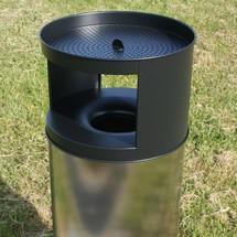 Połączenie popiołu - odpady