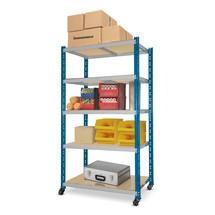 półka pośrednia ruchoma z półkami, obciążenie półki 300 kg