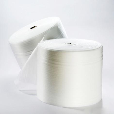 Polstermaterial aus PE-Schaumfolie, perforiert