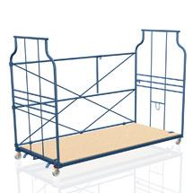 Polstermöbel-Corlette® stapelbar. Rückenwand mit Querstreben, Tragkraft 600kg