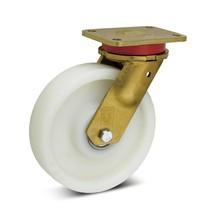 Polyamide-zwaarlast- zwenkwielen Premium. Capaciteit 500- 1700 kg