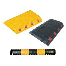 Polypropylene speed bump