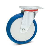 Polyurethan-Lenkrollen, Tragkraft 100 - 300 kg