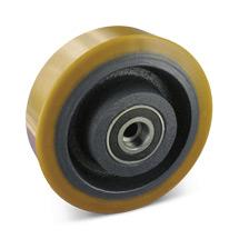Polyurethan-Schwerlast-Räder. Radkörper Guss. Tragkraft 450-1300kg