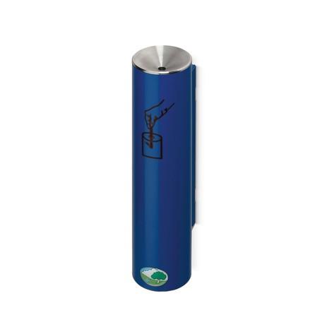 Popielniczka bezpieczna VAR®, samogasząca, mocowanie naścienne lub na przewodach rurowych
