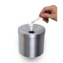 popielniczka ścienna wykonana z aluminium