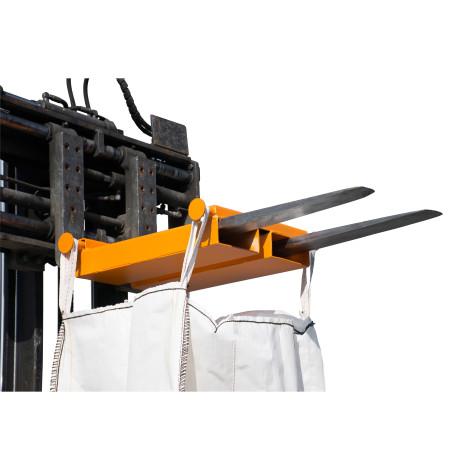 Poprzeczka do worków BIG BAG, mocowanie wózkowe