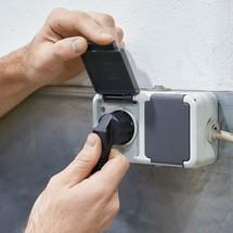 Porta-paletes elétrico Ameise®, largura útil do garfo especial 685 mm, comprimento dos garfos 1200 mm, cap. carga 1500 kg