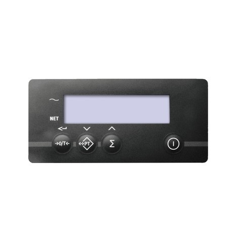Porta-paletes Jungheinrich com balança de pesagem AMW 22 com display básico