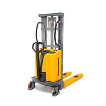 Porta-paletes Jungheinrich HC 110, até 1000 Kg. Elevação elétrica 1600-3000 mm.