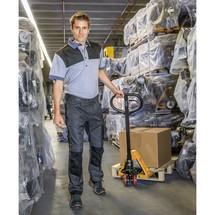 Porta-paletes manual mini Ameise®, até 500 kg. Para espaços confinados.