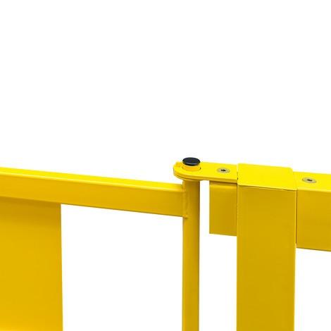 Porta para a barra de proteção contra colisão