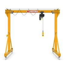 Portaalkraan VETTER inclusief LIFTKET elektrische kettinglier, verrijdbaar