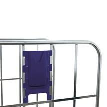 Portadocumentos para contenedores rodantes