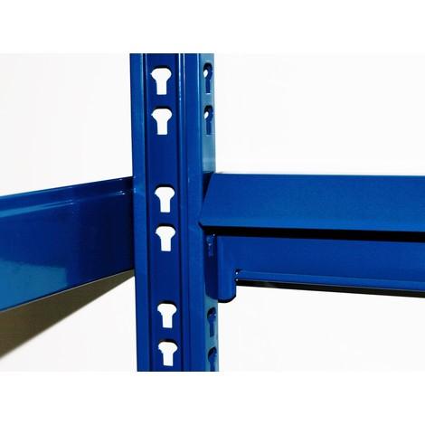 Porte-pneus, travée de base, bleu