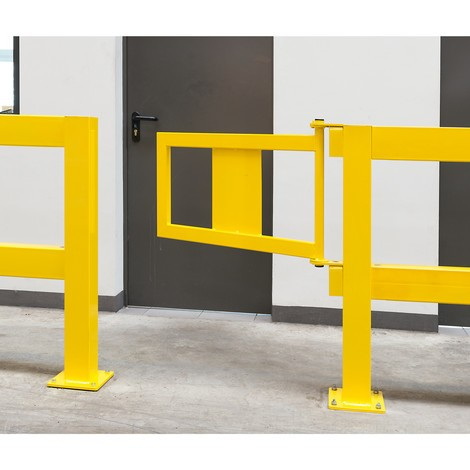 Porte pour rambarde de protection