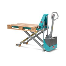 Position control for Ameise® scissor lift pallet truck, electro-hydraulic