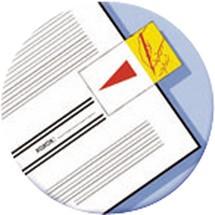Post-it® Haftmarker Index Symbole