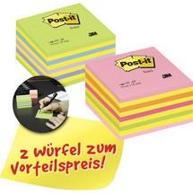 Post-it® Haftnotizen Würfel Promotion