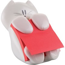 Post-it® Super Sticky Z-Notes Spender Cat