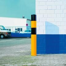 Poste de proteção contra colisão de 90mm de diâmetro