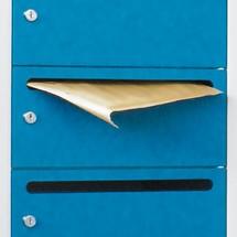 Postverdeelkast, 2 x 10 vakken, 1850x630x500 mm