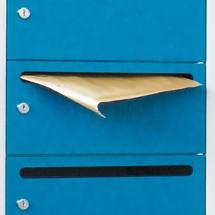 Postverteilschrank PAVOY, 2x 10 Fächer, HxBxT 1.850 x 830 x 500 mm