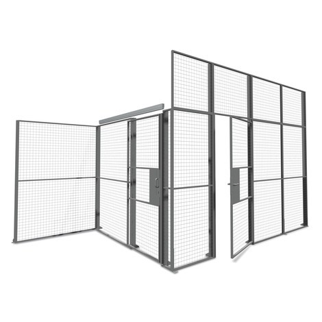 Posuvné dveře pro systém dělicích příček TROAX®