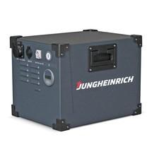 Powerbox móvel Jungheinrich, com bateria de iões de lítio