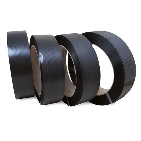PP strapping, ribbed, core Ø 406 mm