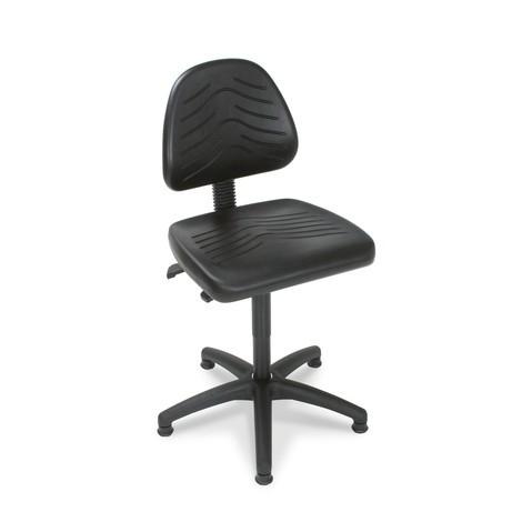 Pracovná otočná stolička komfort, látkové čalúnenie