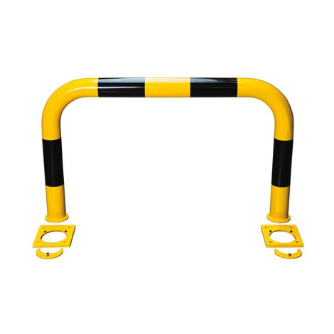 Pram protection bracket for dowel