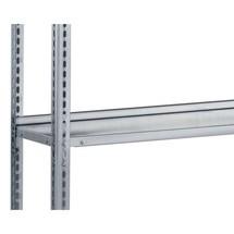 Prateleira adicional para estanteria para pastas de arquivo META, galvanizada