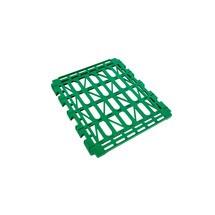 Prateleira em HDPE para recipiente rolante de 4 lados, LxP 710 x 710 mm
