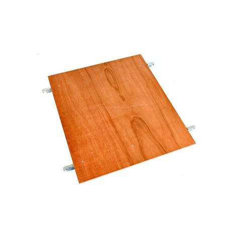 prateleira intermediária de madeira para recipientes laminados 2-, 3-, 4-face