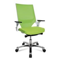 Premium draaib. bureaustoel. Rugl. netstructuur 560 mm