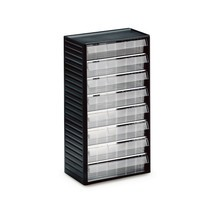 Premium small parts cabinet, height 550 mm