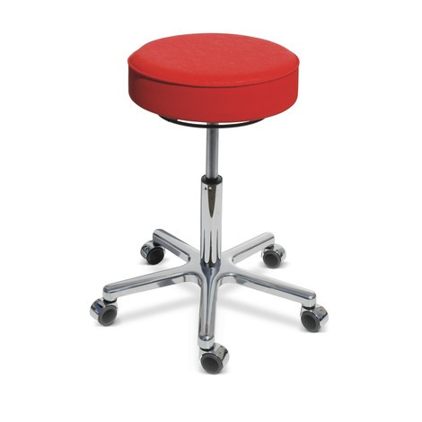 Premium stolička, sedadlo z umelej kože
