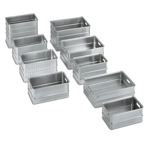 Prepravné boxy vyrobené z hliníka