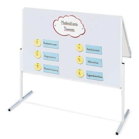 Presentatieborden, klapbaar en dubbelzijdig
