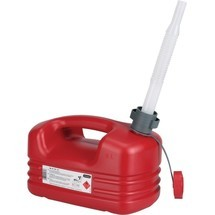 PRESSOL Kraftstoffkanister, rot HDPE