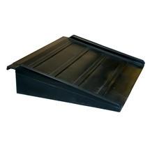 Prístupová rampa pre plochý zberný zásobník